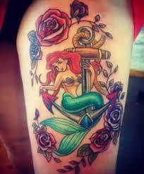 Ariel Tattoo 50