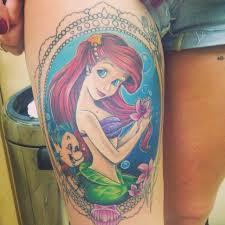 Ariel Tattoo 7