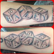 Baby Name Tattoo 2