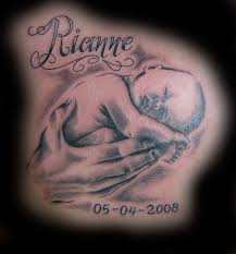 Baby Name Tattoo 20