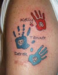 Baby Name Tattoo 5