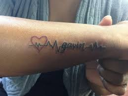 Baby Name Tattoo 8