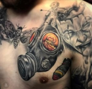 Birmingham Tattoo Artist Ben Painter 1