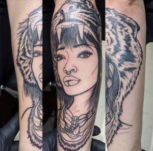 Calgary Tattoo Artist Taylor MacKenzie 1