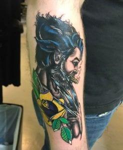Christopher Henry Tattoo Artist