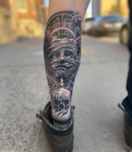 Davenport Tattoo Artist Dustin Hobert 3