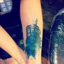 Doctor Who Tattoo 1