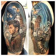 Doctor Who Tattoo 13