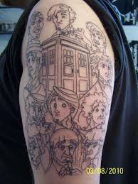 Doctor Who Tattoo 14