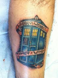 Doctor Who Tattoo 15