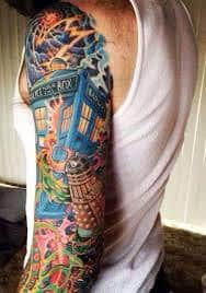 Doctor Who Tattoo 17