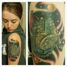 Doctor Who Tattoo 22
