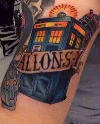 Doctor Who Tattoo 27