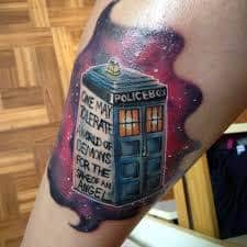 Doctor Who Tattoo 37