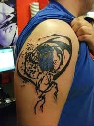 Doctor Who Tattoo 44