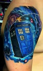 Doctor Who Tattoo 56