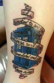 Doctor Who Tattoo 7