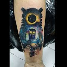 Doctor Who Tattoo 9