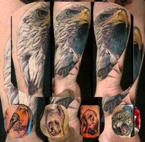 Enrique Hernandez Tattoo Artist 1
