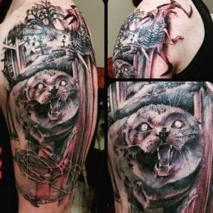 Enrique Hernandez Tattoo Artist