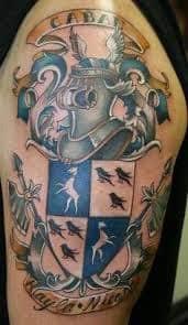 Family Crest Tattoos 1