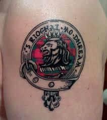 Family Crest Tattoos 49