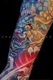 Fu Dog Tattoo 10