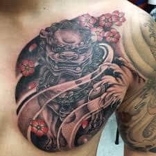 Fu Dog Tattoo 11
