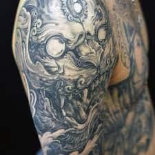 Fu Dog Tattoo 21