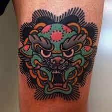 Fu Dog Tattoo 29