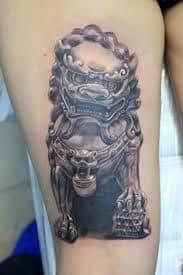 Fu Dog Tattoo 36