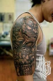 Fu Dog Tattoo 37