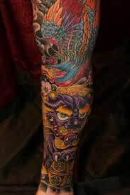 Fu Dog Tattoo 42