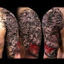 Fu Dog Tattoo 43