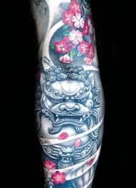 Fu Dog Tattoo 46