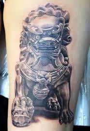 Fu Dog Tattoo 48