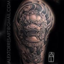Fu Dog Tattoo 5