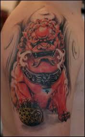 Fu Dog Tattoo 50