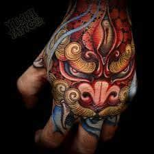Fu Dog Tattoo 52