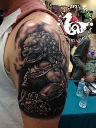 Fu Dog Tattoo 6