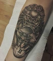 Fu Dog Tattoo 7