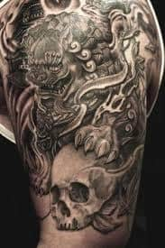 Fu Dog Tattoo 8