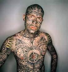 Full Body Tattoo 37