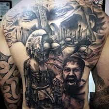 Full Body Tattoo 44