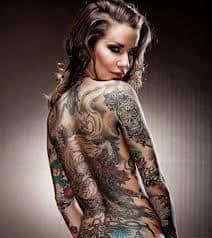 Full Body Tattoo 9