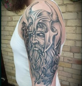 Grand Rapids Tattoo Artist Nick Sage 2