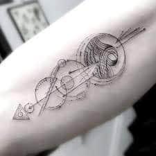Hipster Tattoo 2