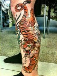 What Does Japanese Tiger Tattoo Mean Represent Symbolism