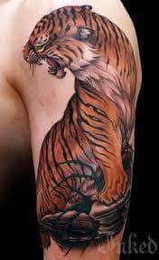 Japanese tiger tattoo 28 tattoo seo for Japanese tattoo chicago