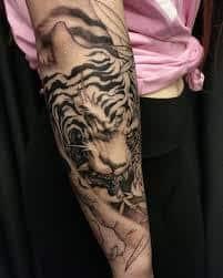 Japanese tiger tattoo 47 tattoo seo for Japanese tattoo chicago